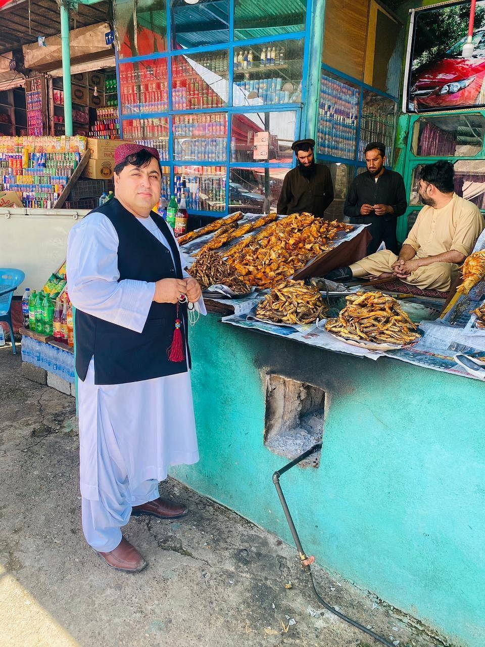 """<div class=""""paragraphs""""><p>Mohammad Khan says he has seen good days in Kabul before the Taliban took over.</p></div>"""