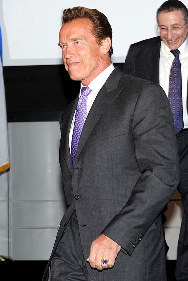 "July 30: Arnold Schwarzenegger turns 64. Jason Merritt/<a href=""http://www.gettyimages.com/"" target=""new"">GettyImages.com</a> - May 10, 2011"