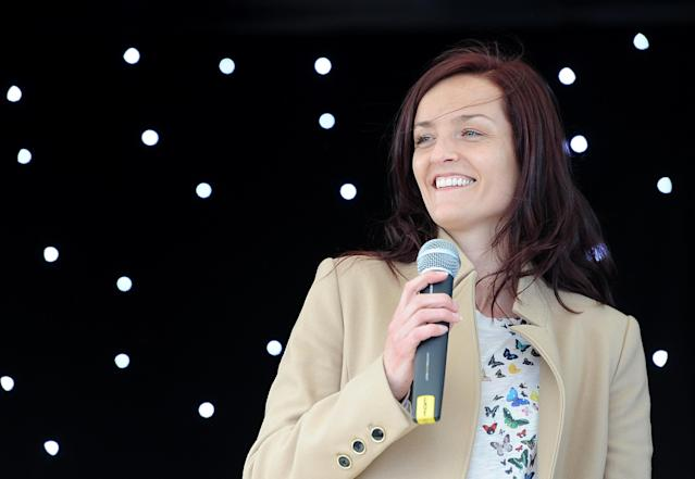 Keavy Lynch from B*witched is expecting twins. (PA)