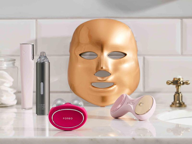 The four products available from John Lewis' new beauty tech department