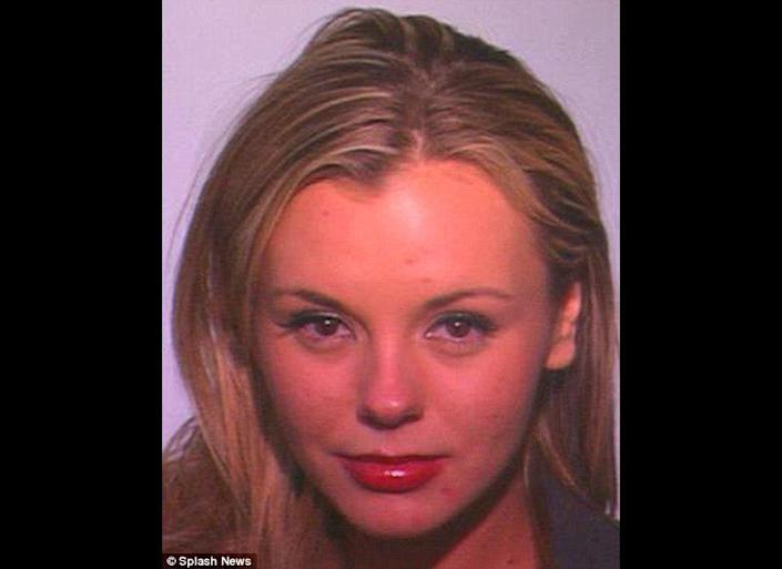 """Charlie Sheen's porn star pal and former """"goddess"""" was picked up for a suspected DUI in Fort Wayne, Indiana on February 3, 2011."""