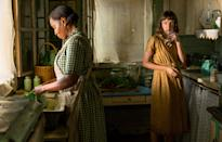 <p>Dee Rees's racial drama puts us smack-dab in a period rarely explored onscreen: It's the height of Jim Crow laws in 1930s Mississippi, where two families — one white, one black — send their sons off to WWII. One returns greeted like a hero, the other still a second-class citizen (you can guess which is which). Stunning and tearjearking, <em>Mudbound</em> is a triumph driven by top-down bravado performances, most notably from likely Oscar contender Mary J. Blige and Jason Mitchell. <em>— K.P.</em>(Photo: Everett Collection) </p>