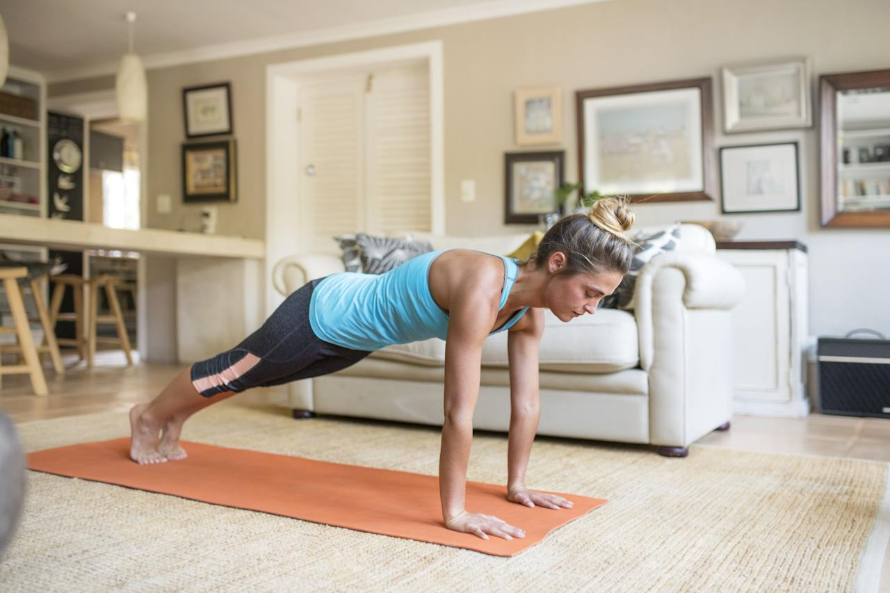 """<p>The best bodyweight workouts are those that you can keep in your back pocket and whip out whenever the moment calls for it. Realistically, with the majority of the population being asked to stay home in the wake of <a href=""""https://www.womenshealthmag.com/uk/coronavirus/"""" target=""""_blank"""">the Coronavirus epidemic</a>, this is exactly that moment. </p><p>If you're light on equipment at home, the prospect of still being able to get a great workout in can seem daunting. We get that. Which is exactly why we've rounded up the best bodyweight workouts YouTube has to offer. You'll notice some familiar – e.g. super famous – faces in the mix: From Biggest Loser trainer<a href=""""https://www.womenshealthmag.com/uk/jillian-michaels/"""" target=""""_blank""""> Jillian Michaels'</a> to Australian celebrity <a href=""""https://www.womenshealthmag.com/uk/kayla-itsines/"""" target=""""_blank"""">PT Kayla Itsines</a>. </p><p>Whether you're squeezing in a session before <a href=""""https://www.womenshealthmag.com/uk/health/conditions/a31662701/self-isolation/"""" target=""""_blank"""">the WFH day</a> starts or escaping a day of virtual meetings with a lunchtime sweat, just make sure to give them your best effort – even if the trainer can't technically see you...</p>"""
