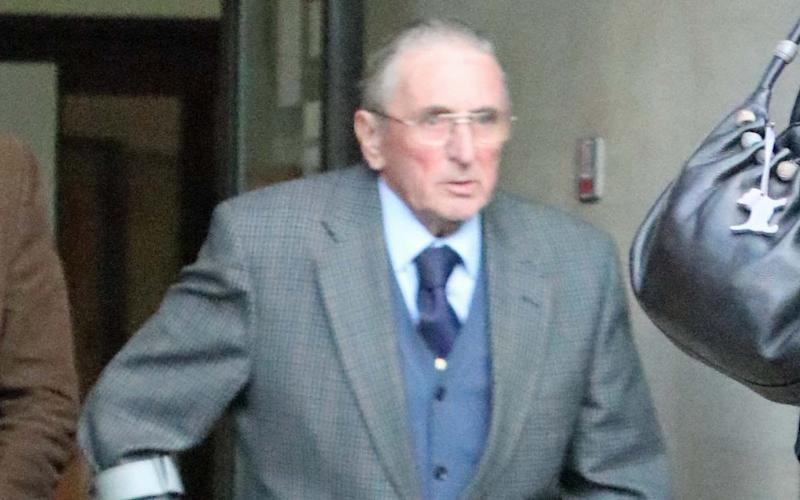 Farmer Kenneth Hugill , 83, of Wilberfoss, accused of shooting a convicted burglar unlawfully at his farm.  - HULL NEWS @ PICTURES