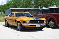 """<p>Afraid of losing its """"pony car"""" crown to the archrival Chevy Camaro, Ford created the Boss 302 variant of the perennially popular Mustang to underscore the importance of legitimate performance over maximum power.</p>"""