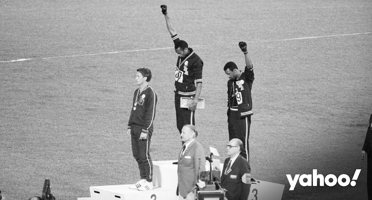 The Australian sprinter whose career was killed by the 'Black Power' podium protest