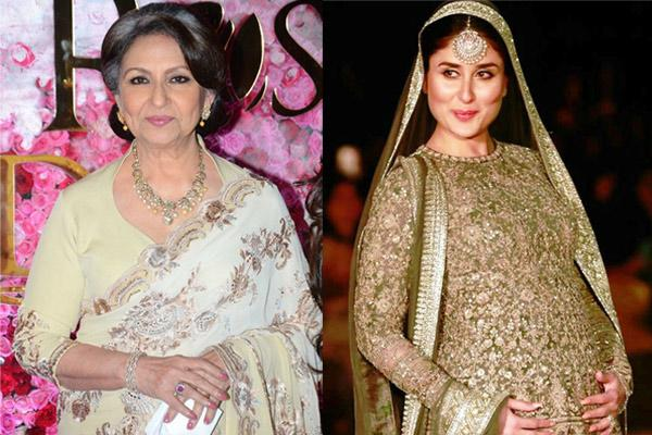 Sharmila Tagore And Kareena Kapoor Khan