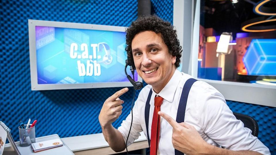 Rafael Portugal, apresentador do CAT BBB