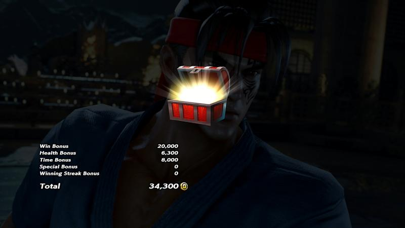 New items can be unlocked through Tekken 7's Treasure Battle. (Bandai Namco)
