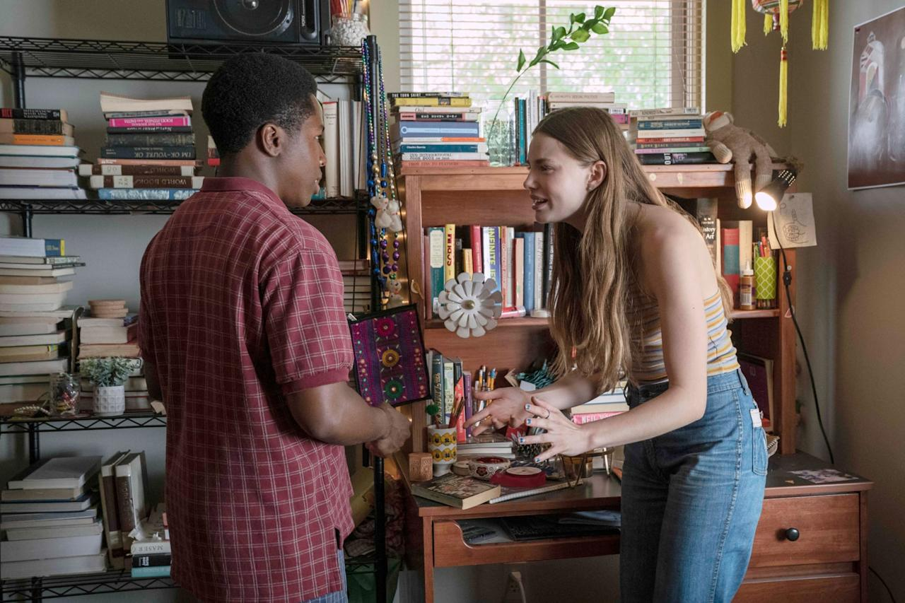 <p>In the novel, Pudge learns about how Paul and Marya get expelled, but he never actually meets them. In the Hulu adaptation, he encounters the couple, albeit very briefly, after they get caught (almost) having sex, lighting up, and drinking. </p>