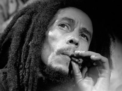 <p>Bob Marley being interviewed after his show at the Fox Theatre in Atlanta, Georgia on November 12, 1979</p>
