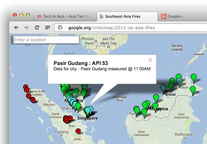 Google Rolls Out \'Southeast Asia Fires\' Map to Track Haze ...