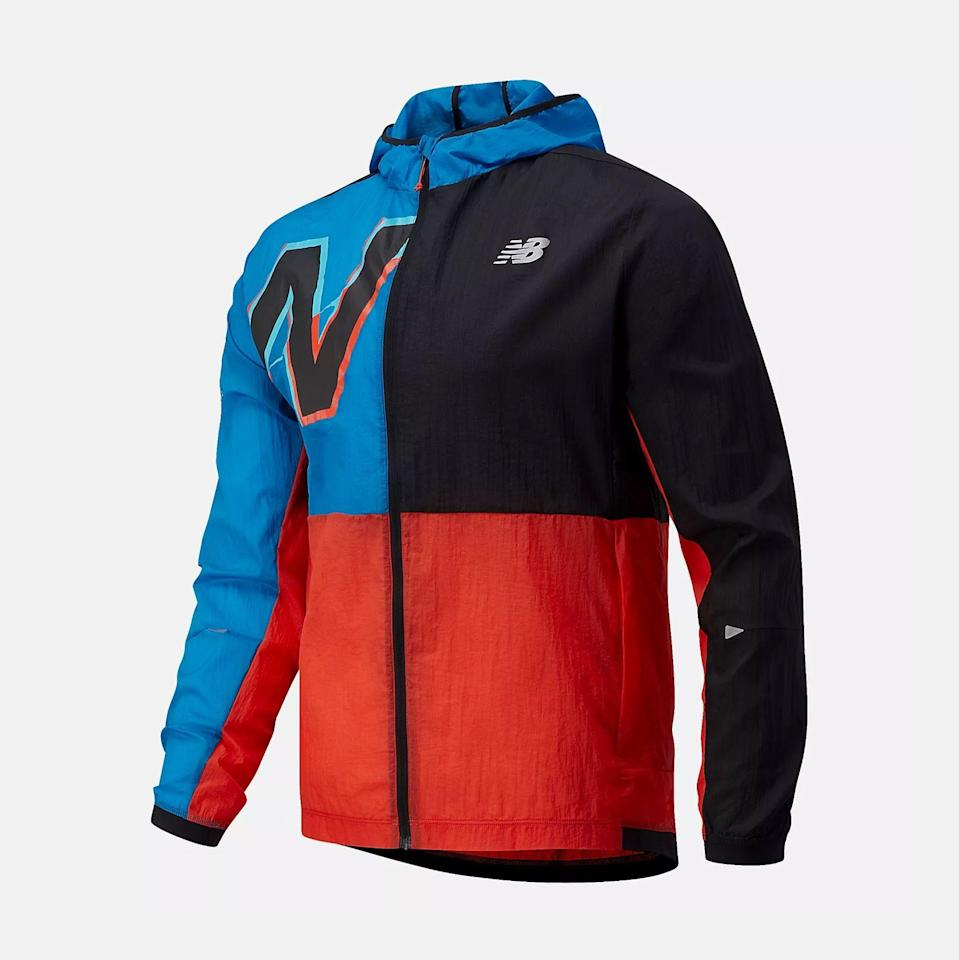 """<p><strong>New Balance</strong></p><p>newbalance.com</p><p><strong>$114.99</strong></p><p><a href=""""https://go.redirectingat.com?id=74968X1596630&url=https%3A%2F%2Fwww.newbalance.com%2Fpd%2Fbrooklyn-half-impact-run-light-pack-jacket%2FMJ11238F.html&sref=https%3A%2F%2Fwww.runnersworld.com%2Fgear%2Fg36113102%2Frunning-essentials%2F"""" rel=""""nofollow noopener"""" target=""""_blank"""" data-ylk=""""slk:Shop Now"""" class=""""link rapid-noclick-resp"""">Shop Now</a></p><p>Feel like a member of the New York Road Runners with New Balance's Brooklyn Half special edition impact run jacket. Not only will the colorway make you easy to spot in a crowd, but the water-resistant outer shell will keep you dry when you need it.</p>"""