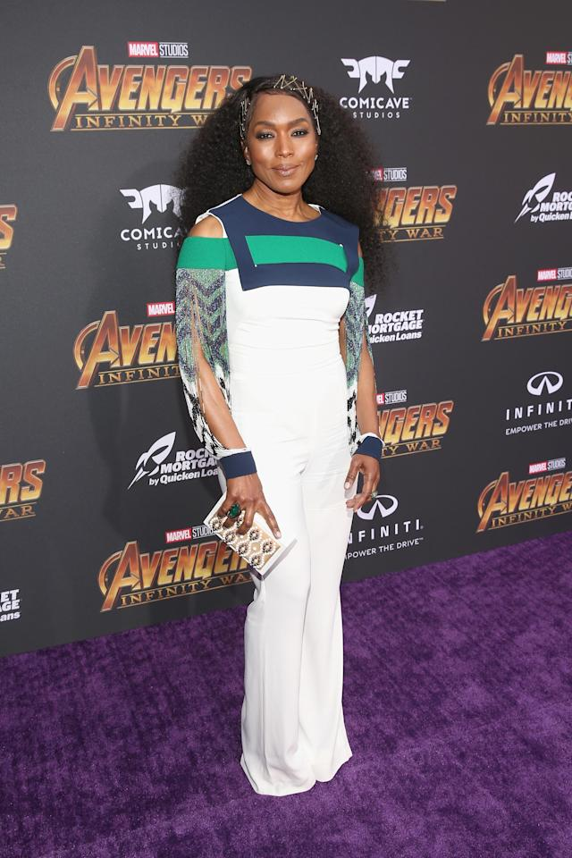 <p>The Wakandan queen went bold. (Photo: Getty Images) </p>