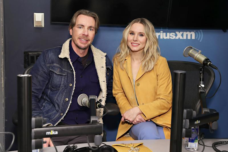 Kristen Bell Says Quarantining with Dax Shepard Isn't Easy