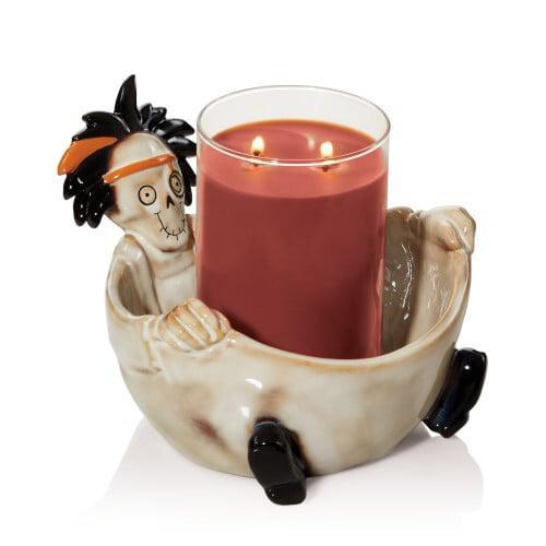 <p>This <span>Good Doctor Jar Candle Holder</span> ($30) can hold medium-size candles.</p>