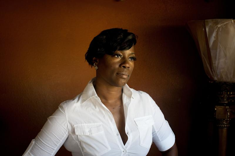 Crystal Mason, 44, photographed in her home in Rendon, Texas. (Photo: Allison V. Smith for HuffPost)