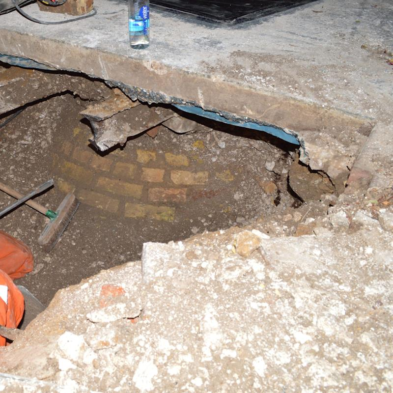 Helen's body was discovered in a brick cesspit hidden under the garage - Credit: PA