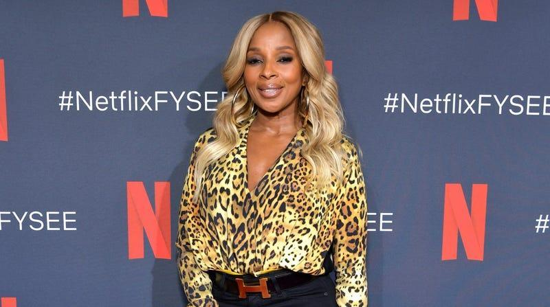 Mary J. Blige attends Netflix's 'Umbrella Academy' Screening at Raleigh Studios on May 11, 2019 in Los Angeles, California.