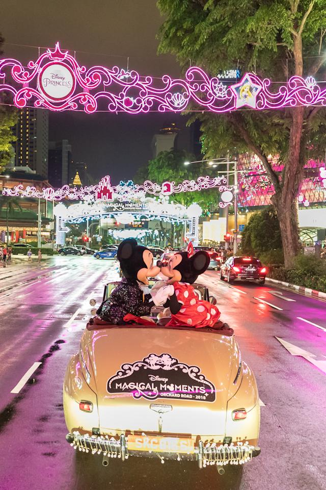 <p>If you're lucky, you may spot the adorable pair down Orchard Road. </p>