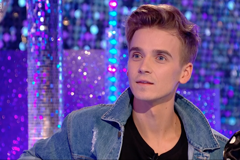 Proving wrong: Joe Sugg said he was happy to get in Craig Revel Horwood's 'good books': BBC