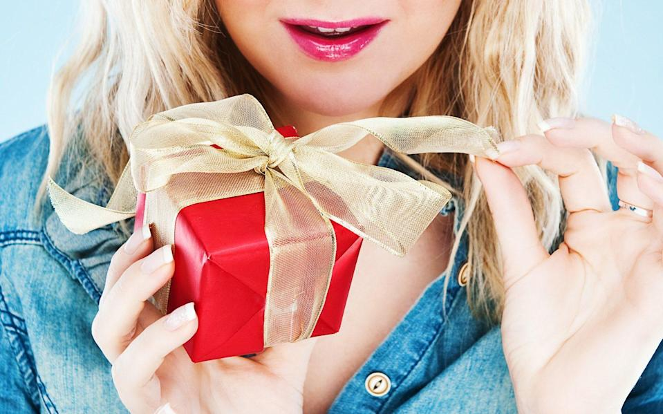 If 'my presence is a present' didn't quite cut it last year, this list of the very best Valentine's Day gifts will earn you major points in 2020 - Getty Images