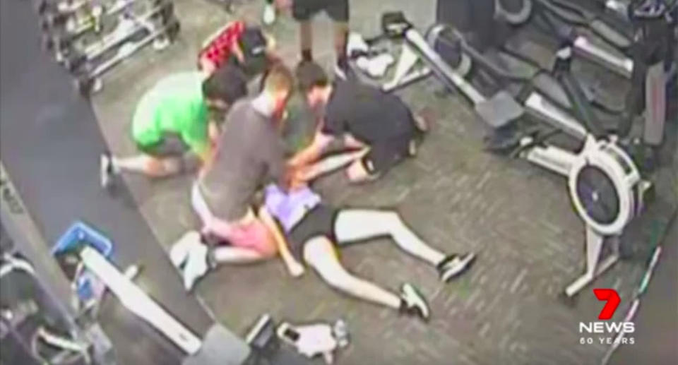 Quick-thinking witnesses rushed to Emily Counter's aid and began performing CPR. Source: 7News