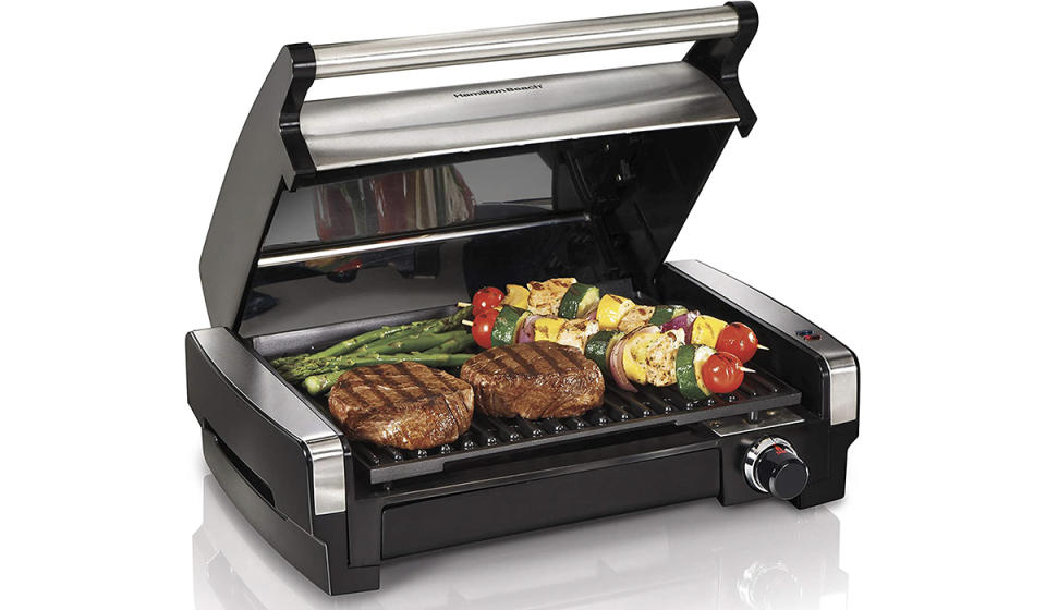 This gizmo locks in all the juices that make your favorite grilled dishes so delicious. (Photo: Amazon)