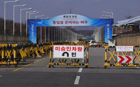 DMZ - Credit: AFP