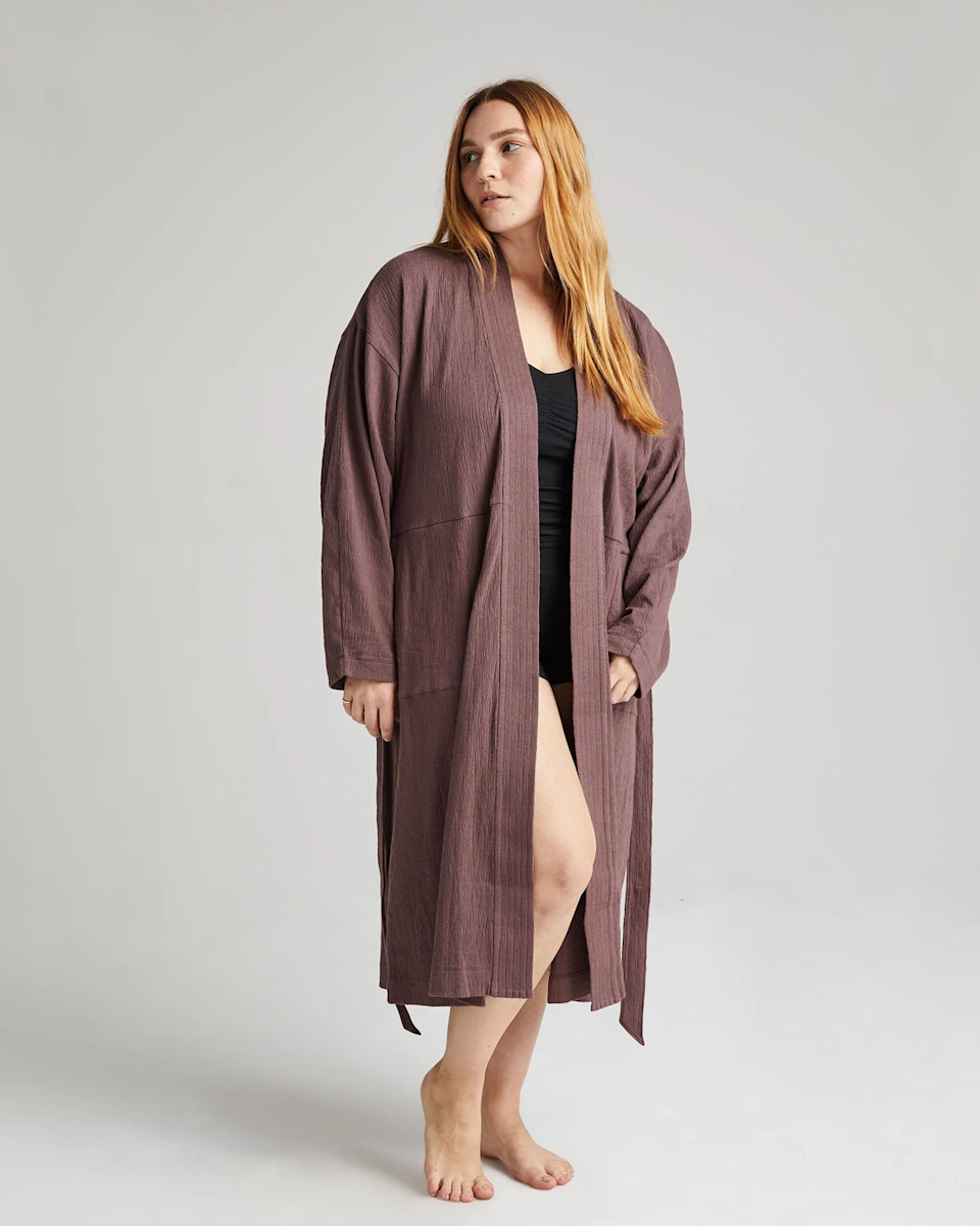 """<h2>Richer Poorer Robe Coat</h2><br>The new Robe Coat from Richer Poorer is already selling out quick. Made from a beautiful gauze cotton, we may have just found the perfect all-year-round robe option. <br><br>As one glowing review stated, """"I've been searching for the perfect spring/summer/fall robe since quarantine started and this is it.""""<br><br><br><br><strong>Richer Poorer</strong> Robe Coat, $, available at <a href=""""https://go.skimresources.com/?id=30283X879131&url=https%3A%2F%2Fricher-poorer.com%2Fproducts%2Fwomens-robe-coat%3Fvariant%3D32666659651680"""" rel=""""nofollow noopener"""" target=""""_blank"""" data-ylk=""""slk:Richer Poorer"""" class=""""link rapid-noclick-resp"""">Richer Poorer</a>"""