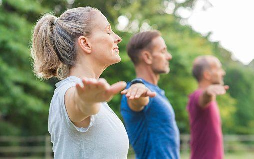 Research found that the greatest benefits were in those who were already active and increased exercise levels later in life - PA