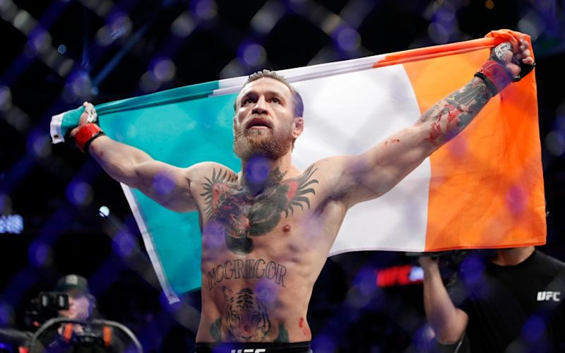 McGregor brushed Cerrone aside in under a minute in a brutal and clinical performance - AP