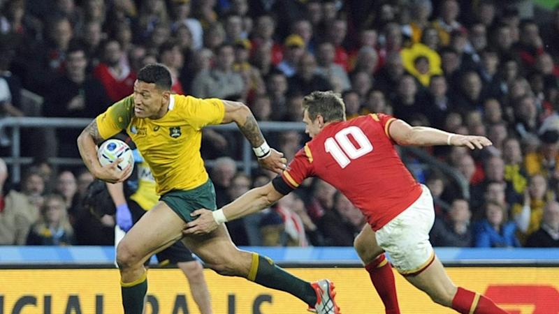 Isreal Folau has signed a one-year deal with Super League side Catalans