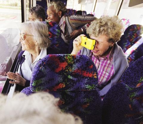 The typical stereotype of a coach tour - Credit: GETTY