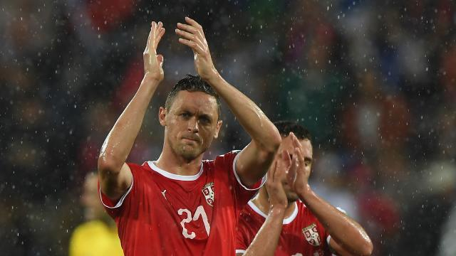The Serbia international went under the knife following the World Cup, much to the chagrin of his manager Jose Mourinho