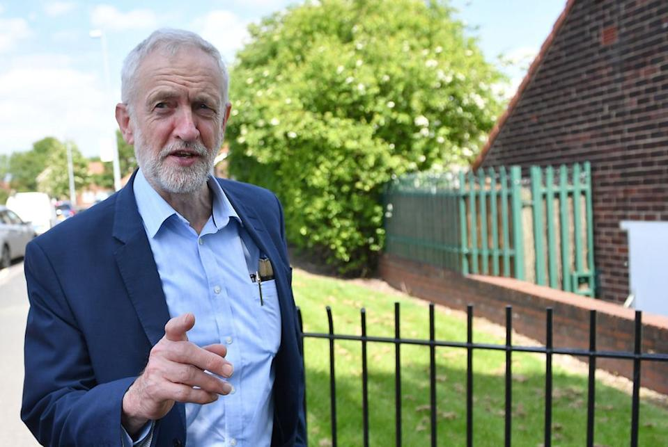 The Labour leader said either a general election or public vote is needed to break the Brexit deadlock (Getty)