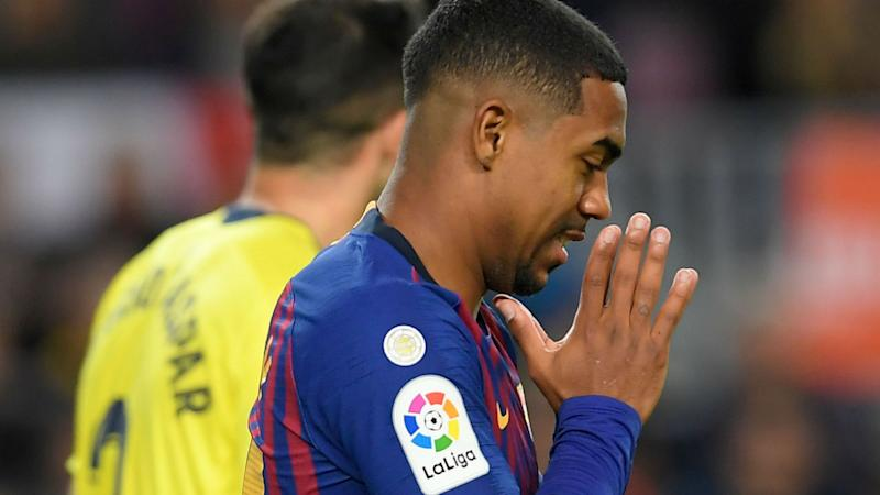 More injury worry for Barcelona as Malcom suffers sprained ankle