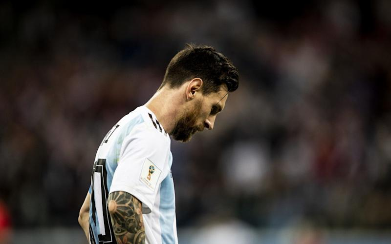 Lionel Messi and Argentina's World Cup stay looks likely to be a short one - Getty Images Europe