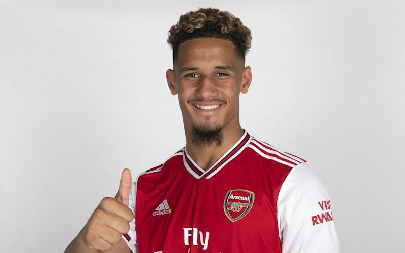 William Saliba - Arsenal fail in extending William Saliba's loan as talks with St Etienne break down - GETTY IMAGES