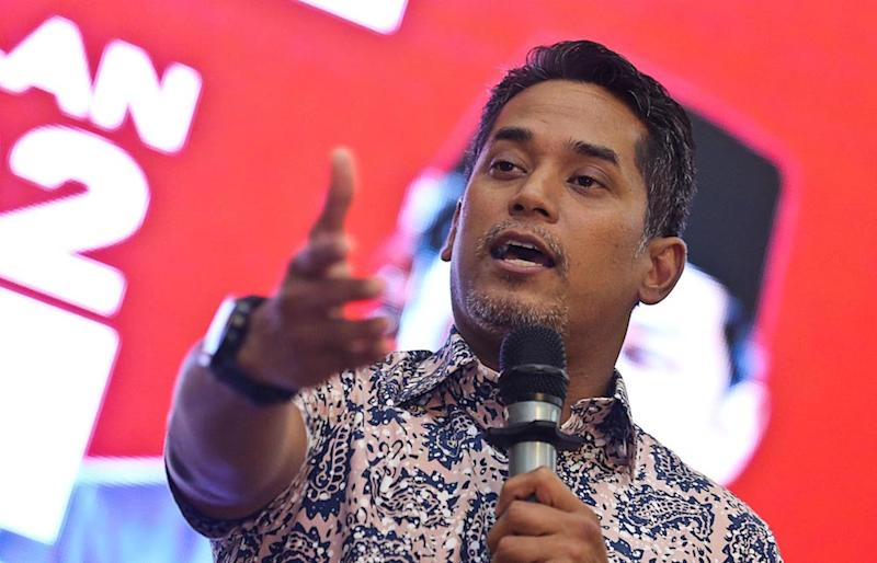 Khairy said he still believed that Umno was a 'tent' for the Malays, with its original DNA of moderation, centrism, and celebrating diversity. — Picture by Sayuti Zainudin