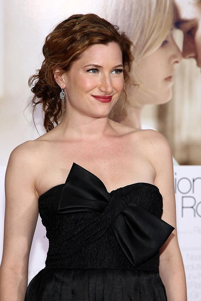 """<a href=""""http://movies.yahoo.com/movie/contributor/1807590810"""">Kathryn Hahn</a> at the Los Angeles premiere of <a href=""""http://movies.yahoo.com/movie/1809883886/info"""">Revolutionary Road</a> - 12/15/2008"""