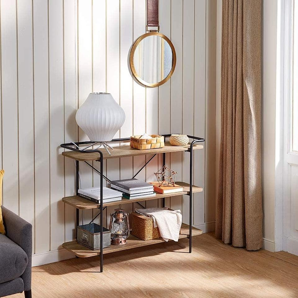 <p>This <span>Linsy Home 3 Tier Sofa Console Table</span> ($140) is a stylish choice for a great price.</p>