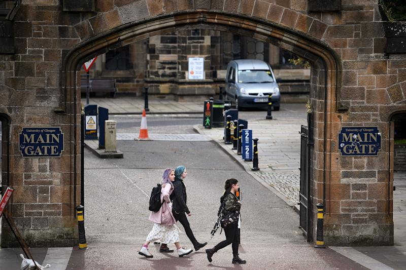 There has been an outbreak at the University of Glasgow (Getty Images)