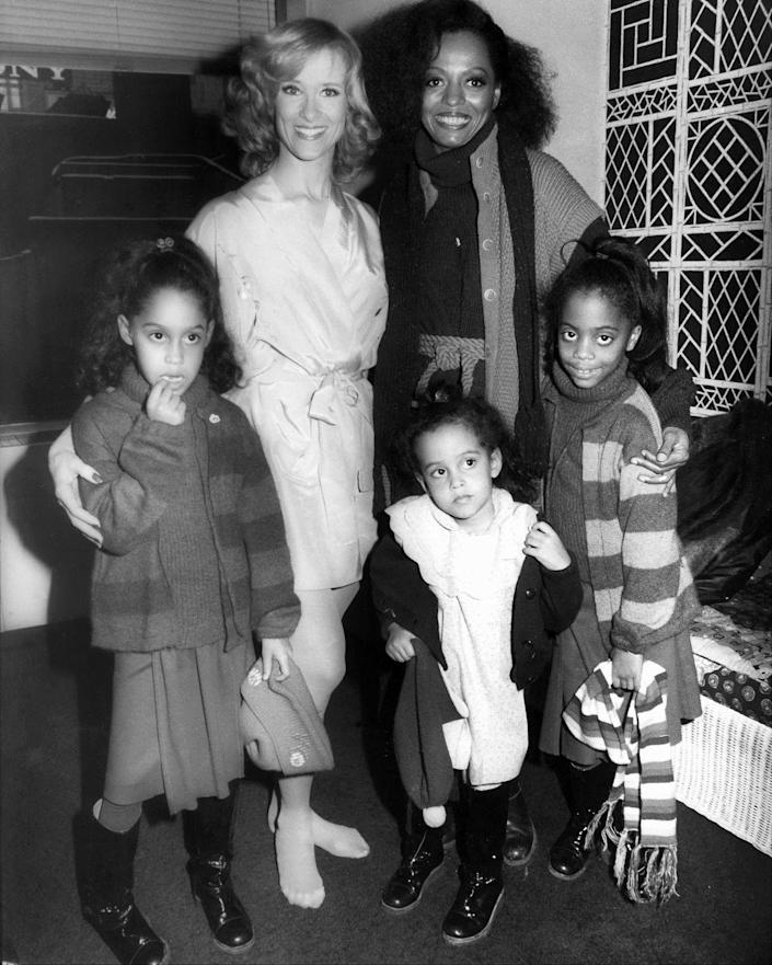 <p>Although most children would love to meet the stars of their favorite shows, that perk is typically reserved for celebrities and their offspring. Case in point: Diana Ross brought her daughters backstage to meet American figure skater, JoJo Starbuck, after watching a performance of <em>Ice Dancing</em>.  </p>