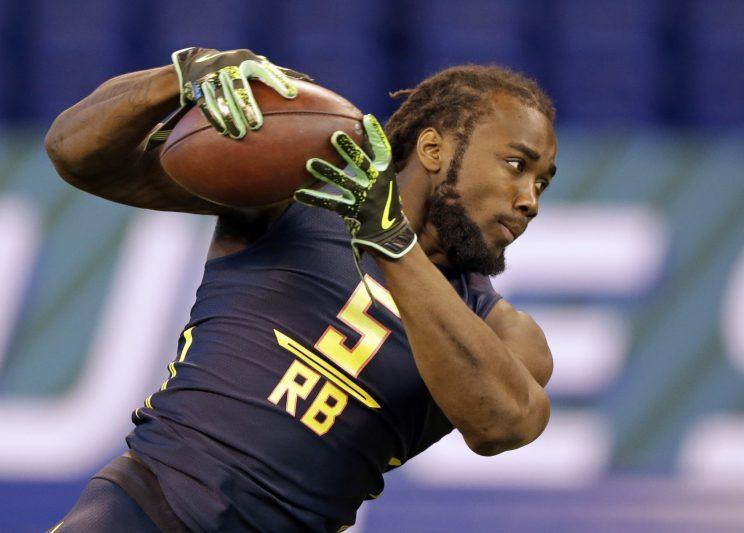 Dalvin Cook joins Latavius Murray in the backfield in Minnesota. (AP)