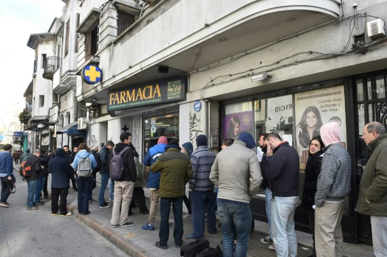 Marijuana sales in Uruguay pharmacies began on July 19