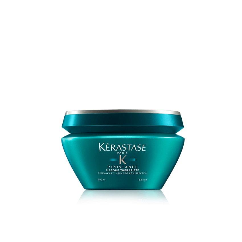 <p>This hair mask is made with amino acids that actually cling to damaged areas of the hair. This helps make up for any loss of volume. Work the thick cream through your hair and let the formula sit for 10 minutes. After you rinse and let your hair dry, it'll feel immediately smoother and softer. </p>