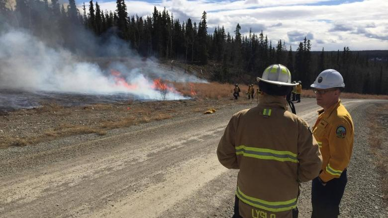 Whitehorse testing new wildfire prevention strategy: burn stuff