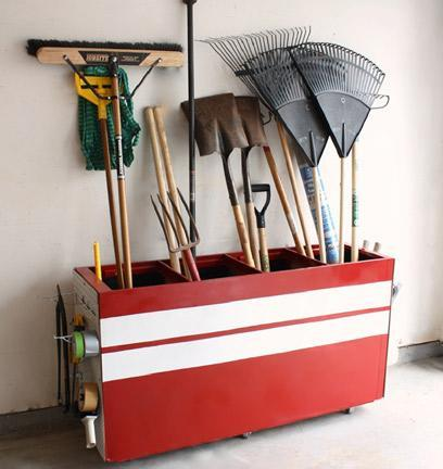 """<div class=""""caption-credit""""> Photo by: Trash to Treasure Blog</div><div class=""""caption-title"""">Filing Cabinet Turned Garage Storage</div>This bit of brilliance has totally inspired me! Create useful garage storage from an old filing cabinet. You can even paint a cool design on it to add a decorative touch to your garage! <br> <i><a href=""""http://www.babble.com/crafts-activities/upcycled-10-crafts-that-you-can-make-from-trash-and-turn-into-treasure/?cmp=ELP bbl lp YahooShine Main  031313  Upcycled10CraftsThatYouCanMakeFromTrashAndTurnIntoTreasure famE   """" rel=""""nofollow noopener"""" target=""""_blank"""" data-ylk=""""slk:Get the tutorial at the Trash to Treasure Blog"""" class=""""link rapid-noclick-resp"""">Get the tutorial at the Trash to Treasure Blog</a> <br></i> <i><a href=""""http://www.babble.com/the-new-home-ec/2011/08/18/20-diy-headboard-ideas-to-make/?cmp=ELP bbl lp YahooShine Main  031313  Upcycled10CraftsThatYouCanMakeFromTrashAndTurnIntoTreasure famE   """" rel=""""nofollow noopener"""" target=""""_blank"""" data-ylk=""""slk:Related: 20 unique, DIY headboards you won't find at Pottery Barn"""" class=""""link rapid-noclick-resp""""><b>Related: 20 unique, DIY headboards you won't find at Pottery Barn</b></a></i><i><br></i>"""