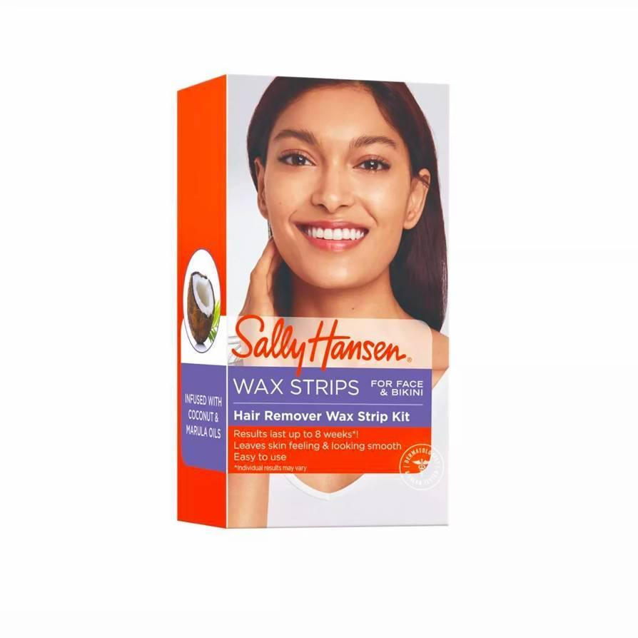 """<p>This affordable kit includes 34 wax strips for around $5, and reviewers declare they've officially canceled salon visits for everything from sideburns to eyebrows. If your local threading studio is closed for now, these versatile strips are a reliable alternative. Having earned a """"clean"""" certification from Target, they won't irritate sensitive areas, and the kit comes with finishing oil for any leftover residue once the deed is done.</p> <p><strong>What customers say:</strong> """"I <em>love</em> these wax strips! They have different size strips for lips and brows, and it's as simple as heating the strips in your hand, placing over the hair to be removed, and pulling off! They come with oil to remove excess wax and soothe after removal, and a good amount of strips that are reasonably priced. I won't have to visit a salon again—I can do it from the comfort of my home!"""" —<em>Anonymous, at</em> <a href=""""https://fave.co/2w187qf"""" rel=""""nofollow noopener"""" target=""""_blank"""" data-ylk=""""slk:Target"""" class=""""link rapid-noclick-resp""""><em>Target</em></a></p> $5, Target. <a href=""""https://www.target.com/p/sally-hansen-hair-remover-face-and-bikini-wax-kit-34-wax-strips/-/A-14086273"""" rel=""""nofollow noopener"""" target=""""_blank"""" data-ylk=""""slk:Get it now!"""" class=""""link rapid-noclick-resp"""">Get it now!</a>"""